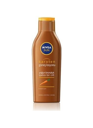 Nivea Nivea Sun Karoten Özlü Güneş Sütü 200Ml Renkli